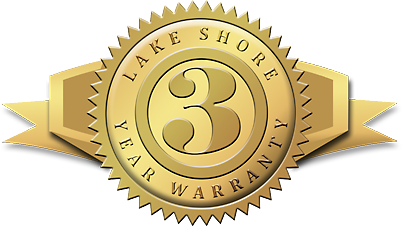 Lake Shore's 3-year warranty