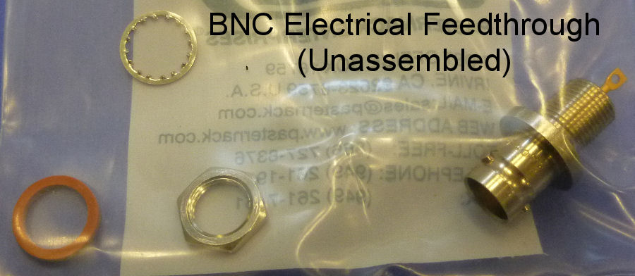 BNC Electrical Feedthrough Parts