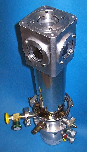 CCS-100-204 top window special jack-to-jack BNC feedthroughs