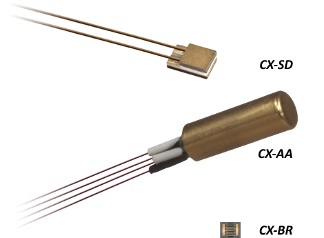 Cernox temperature sensors