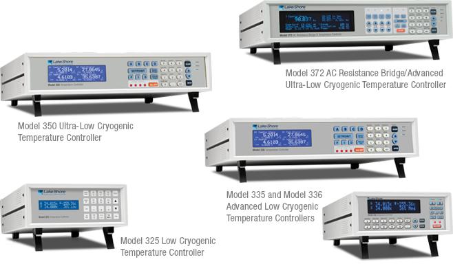 Lake Shore temperature controllers