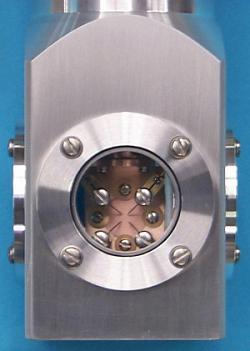 DLTS sample holder VPF