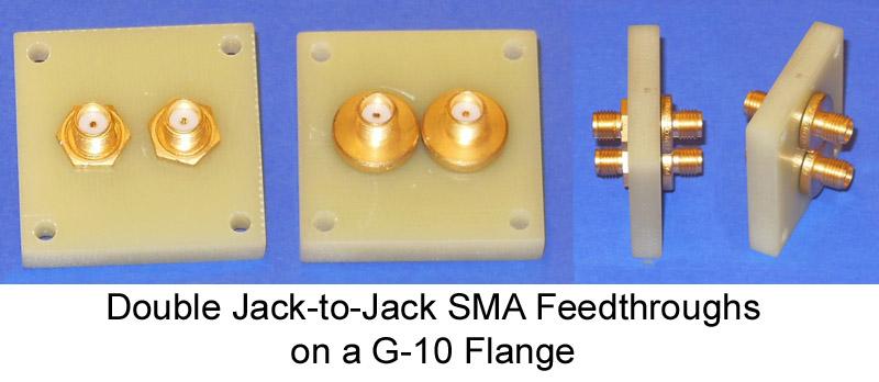 Double Jack-to-Jack SMA