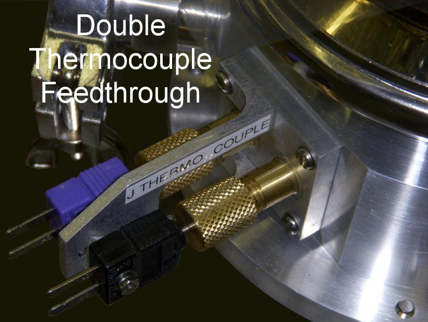 Double Thermocouple Feedthrough