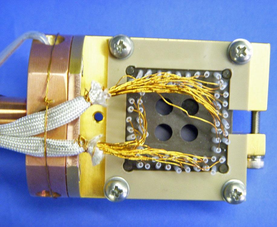 LCC Socket Sample Holder Phosphor-Bronze Wires
