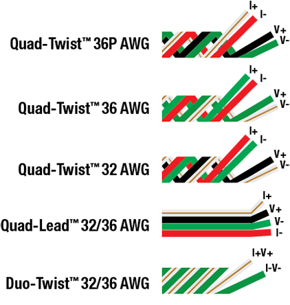 Lead Extension Wire Diagrams
