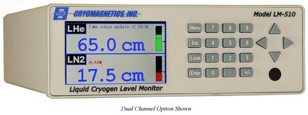 LM-510 Liquid Cryogen Level Monitor