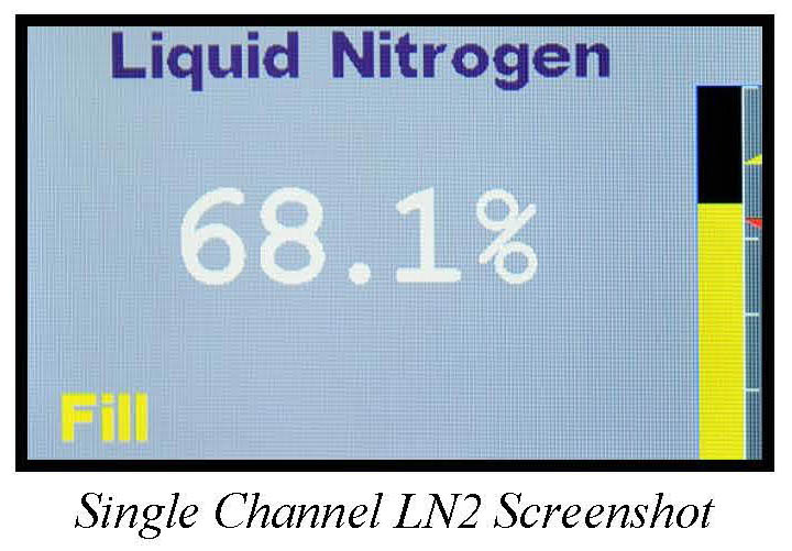 LM-510 Single Channel LN2 Screenshot