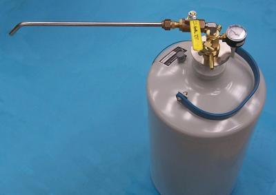 LN-10 Liquid Nitrogen storage Dewar withdrawal device