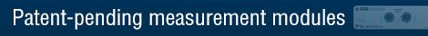 Patent-pending measurement modules