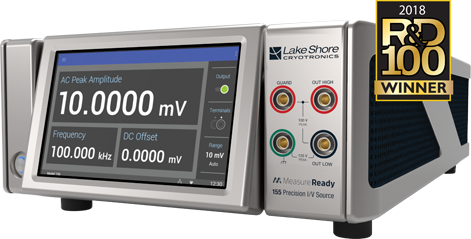 Award-winning MeasureReady 155 current and voltage source