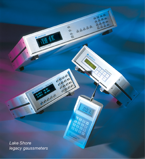 Legacy Lake Shore gaussmeters