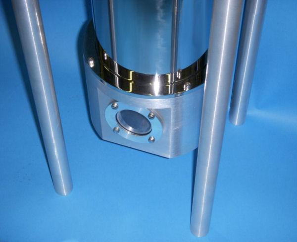 PTSHI-4-5 Pulse Tube o-ring sealed flange