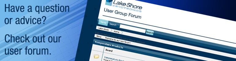 Lake Shore user forum