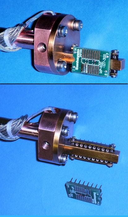 Special Sample Positioner With DIP Socket Sample Holder