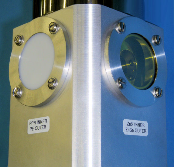 STVP-100-FTIR Special ZnSe Polyethylene Windows