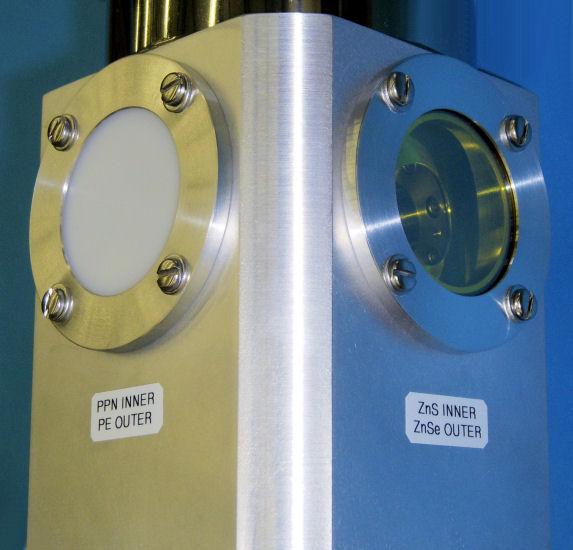 STVP-100-FTIR ZnSe Polyethylene Windows