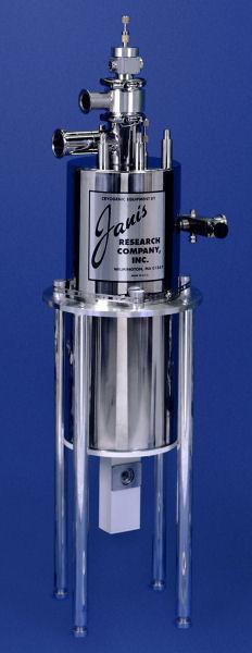 SVT-200-5 large optical SuperVariTemp reservoir cryostat