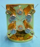 High Tc 4-probe sample holder
