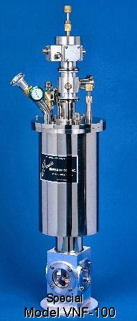 VNF-100 optical LN2-cooled cryostat