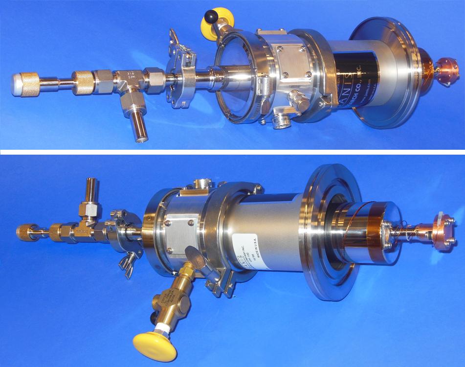 VPF-100 Vacuum Shroud LF-100 Flange