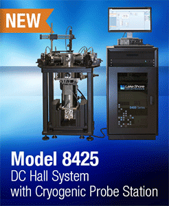 Lake Shore's new Model 8425 DC Hall measurement system