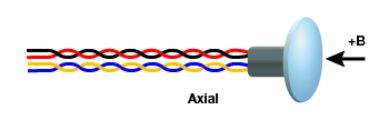 An axial Hall sensor