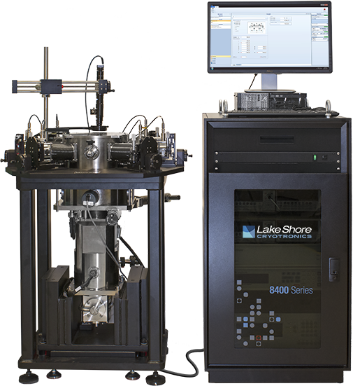 Model 8425 DC Hall System with Cryogenic Probe Station