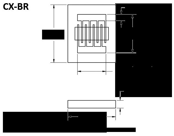 CX-BR dimensions
