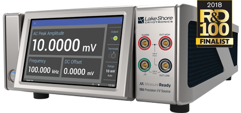Lake Shore precision current and voltage source named finalist for the 2018 R&D 100 Awards